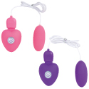 USB충전식 로터 핑크&퍼플